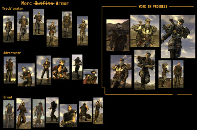 From Merc outfits to Merc Armour(proper edition)