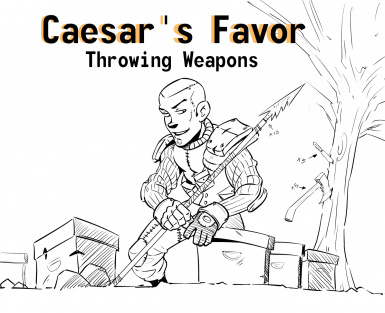 Caesar's Favor-throwing weapons
