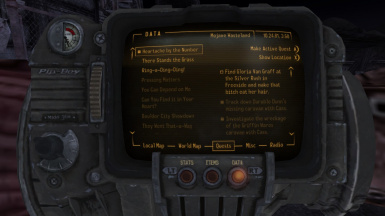 Improved Quest Objectives for FNV - IQO4FNV