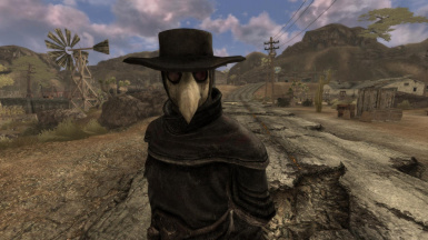 Plague Doctor Companion