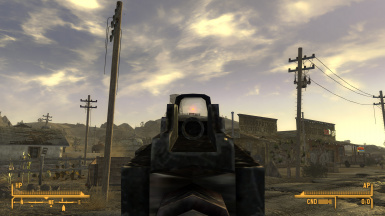 First-Person Red Dot Sight