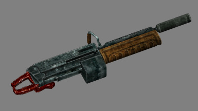 The Warthawg - A Chainsaw-Grip LMG