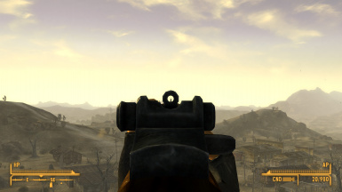 First-Person Iron Sights