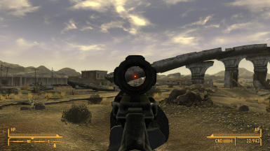 Look-Through Red Dot Sight