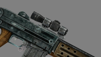 Updated Self-Loading Rifle Mesh (New Red-Dot)