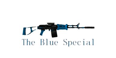 The Blue Special Chinese Assault Rifle