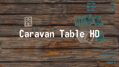 HD Caravan Table retexture