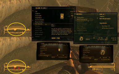 YDL-S - Regain your compass ticks. Fallout DUST and Vanilla.