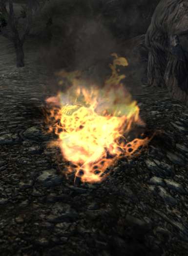 Burned Creatures Drop Cooked Meat