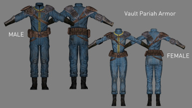 Vault Pariah Armor (Added in v1.1)