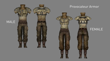 Provocateur Armor (Added in v1.1)