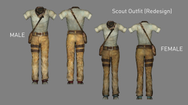 Scout Outfit Redesign (Added in v1.1)