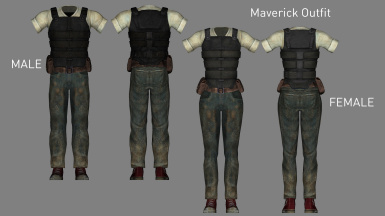 Maverick Armor (Added in v2.1)