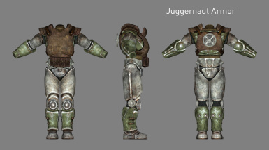 Juggernaut Armor (Added in v2.1)