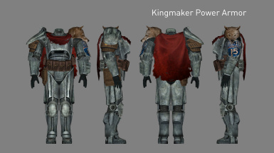 Kingmaker Power Armor (Added in v2.2)