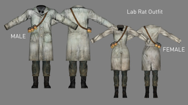 Lab Rat Outfit (Added in v2.2)