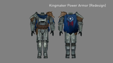 Kingmaker Power Armor Redesign (Added in v2.3)