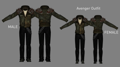 Avenger Outfit (Added in v2.4)