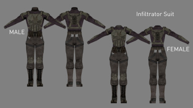 Infiltrator Suit (Added in v3.1)