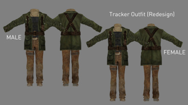 Tracker Outfit Update (Added in v3.0)