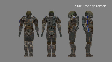 Star Trooper Armor (Added in v2.5)