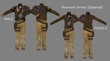 Revenant Armor Update (Added in v3.1)