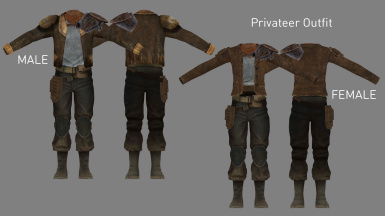 Privateer Outfit (Added in v3.2)