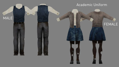 Academic Uniform (Added in v3.3)