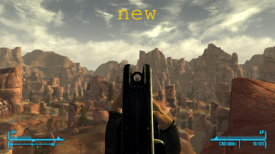 Survivalist's Rifle - Fixed Iron Sights and Weapon Mods