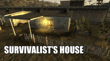 Survivalist's House - A New Player Home in Primm