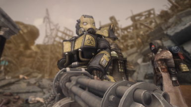 A Lorefriendly Fallout 4 Power Armor Loot