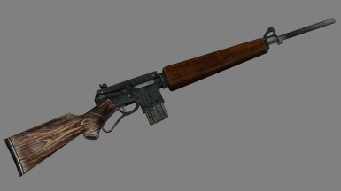 Lev-AR - Lever-Action 5.56mm Rifle