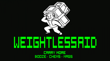 WeightlessAid (DLC Support - YUP Support - CCO Support)