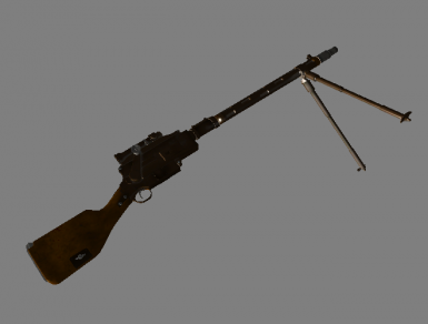 Large-caliber sniper rifle Madsen