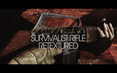 Heaven's Survivalist Rifle Retextured