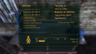 Recipe Version 1.1 (with no Buffs and Stats)