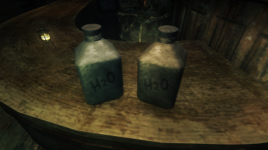 Water Containers to put out fire debuffs, or to drink