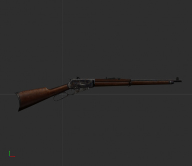 Winchester 1895 Lever Action Rifle