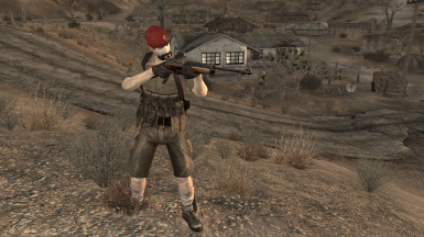 NCR Trooper Overhaul 1st Recon Survival and Assault Armor Replacer