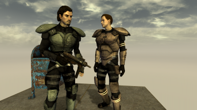 Reinforced Combat Armor... with Gloves!