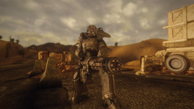 Power Armor from Dragbody's Fallout 4 Power Armor Mod