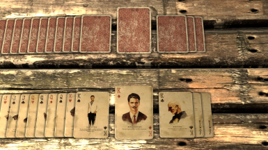 New Vegas Collector's Cards
