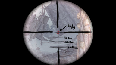 The Frontier - Replaced Reticle