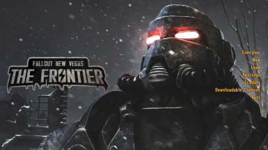 Main Menu for Fallout - The Frontier