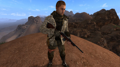 Desert Jacket (face is from a custom race in a dragbody mod)