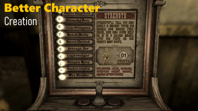 Better Character Creation