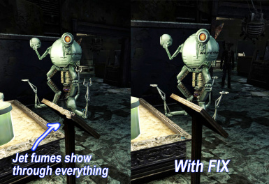 Mr Handy ENB Jet Fumes Fix