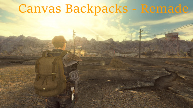Canvas Backpacks - Remade