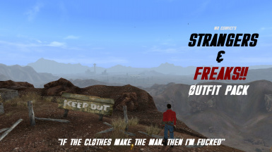 Strangers and Freaks Outfit Pack