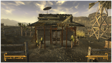 Small hunting shack in Goodsprings